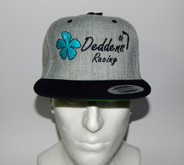 René Deddens Snapback Classic - Heather Grey / Black
